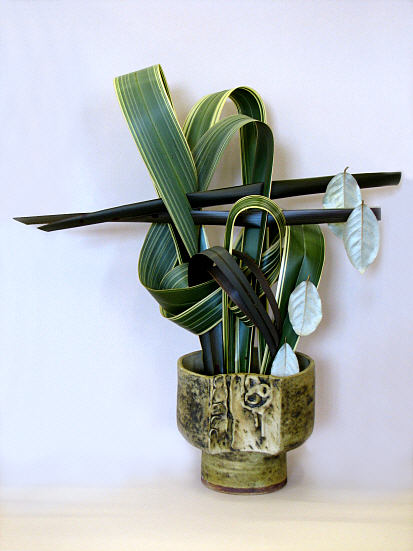 SOGETSU IKEBANA FLOWER ARRANGING BY CHRISSIE HARTEN DESIGN 5