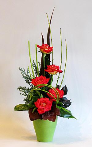 Flower Arranging By Chrissie Harten Theme Take Five